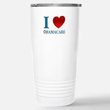 I Love Obamacare Stainless Steel Travel Mug