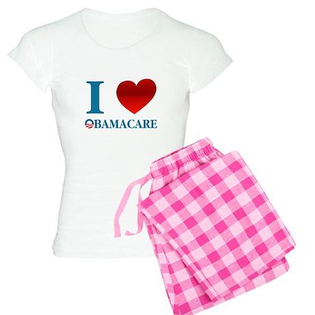 I Love Obamacare Women's Light Pajamas