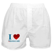 I Love Obamacare Boxer Shorts