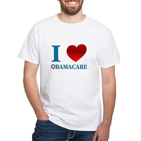 I Love Obamacare White T-Shirt