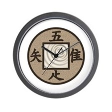 Tsukubai Wall Clock