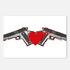 Gun Love Postcards (Package of 8)