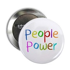 "People Power 2.25"" Button"