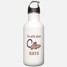 Wild About Rats Water Bottle