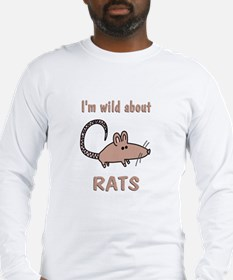 Wild About Rats Long Sleeve T-Shirt