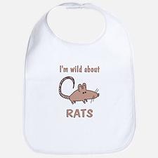 Wild About Rats Bib
