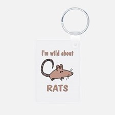 Wild About Rats Keychains