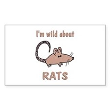 Wild About Rats Decal