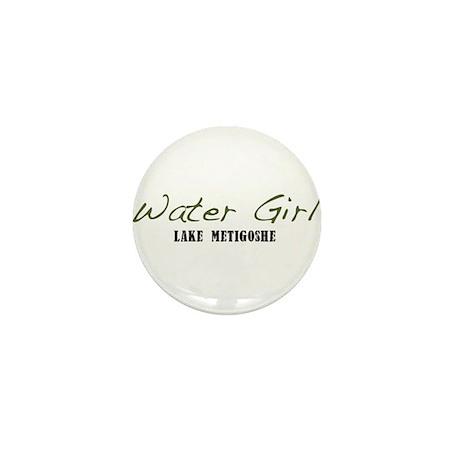 water girl--metigoshe.png Mini Button (10 pack)