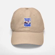 """Trucker's Husband"" Baseball Baseball Cap"