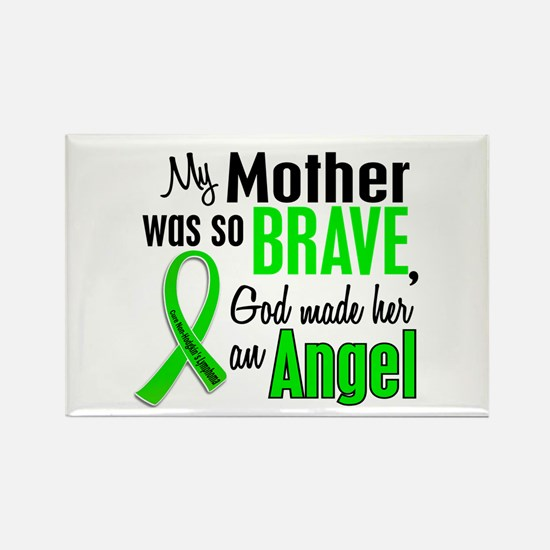Angel 1 NH Lymphoma Rectangle Magnet