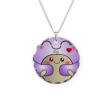 Kawaii Mother and Child Cute Hug Necklace