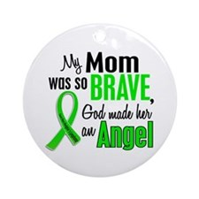 Angel 1 NH Lymphoma Ornament (Round)