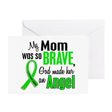Angel 1 NH Lymphoma Greeting Cards (Pk of 10)