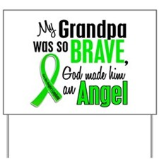 Angel 1 NH Lymphoma Yard Sign