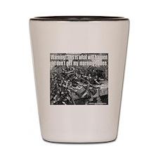 COFFEE/JAVA DRINKER Shot Glass