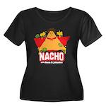 Nacho Women's Plus Size Scoop Neck Dark T-Shirt