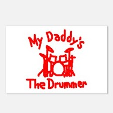 My Daddys The Drummer™ Postcards (Package of 8)