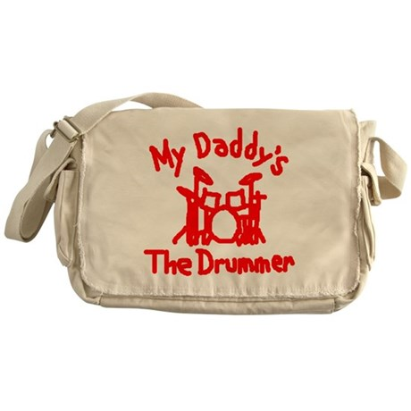 My Daddys The Drummer™ Messenger Bag