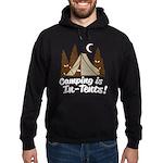 Camping Is In-Tents Hoodie (dark)