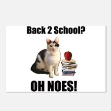 Lolcat Back to School Postcards (Package of 8)
