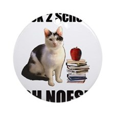 Lolcat Back to School Ornament (Round)