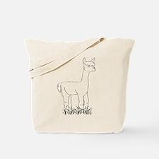 Adorable Alpaca Tote Bag