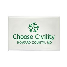 Choose Civility Logo Magnets