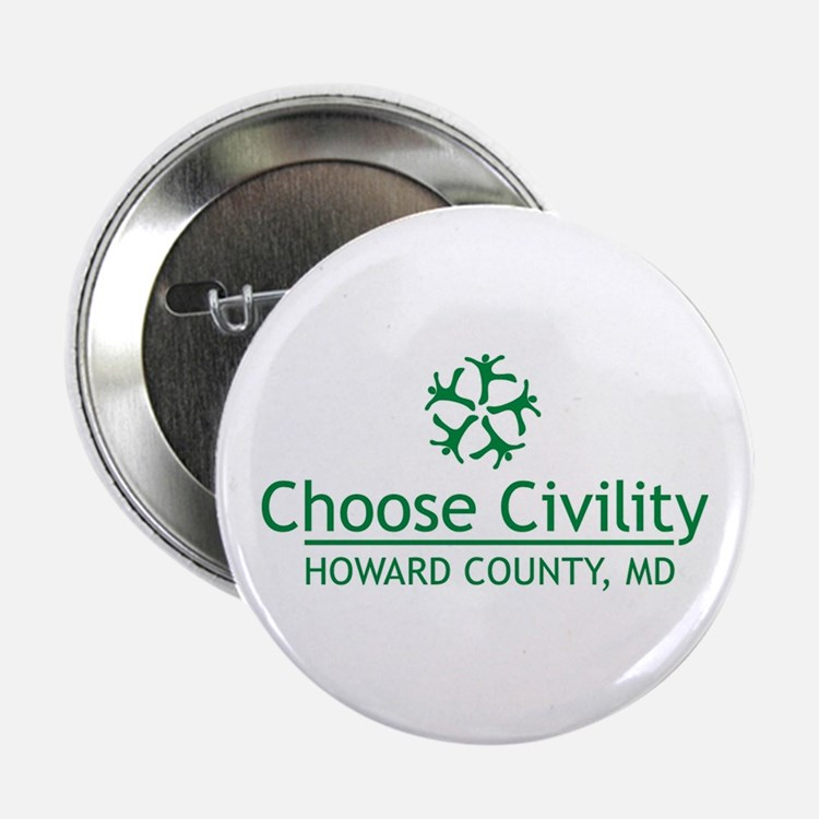 "Cute Civility 2.25"" Button"