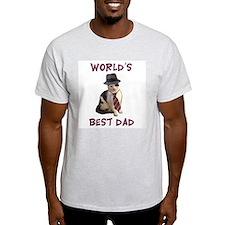 World's Best Dad Cat T-Shirt
