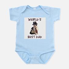 World's Best Dad Cat Infant Bodysuit