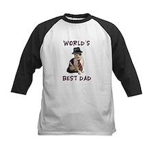 World's Best Dad Cat Tee