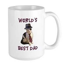 World's Best Dad Cat Mug