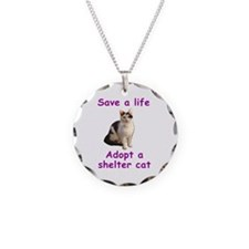 Shelter Cat Necklace