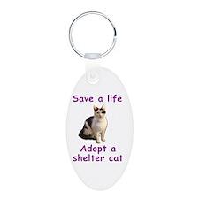 Shelter Cat Keychains