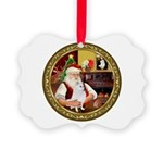 Santa's Am Eskimo #5 Picture Ornament
