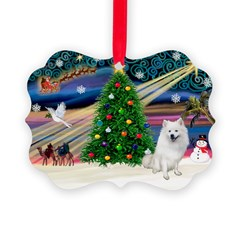 XmasMagic/Eskimo Spitz Ornament