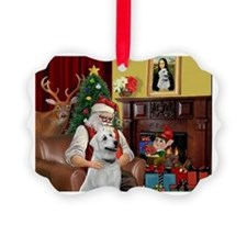 Santa & Anatolian Ornament