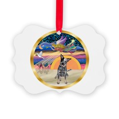 XmasStar/Cattle Dog Ornament