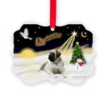 Night Flight/Mastiff 4 Picture Ornament