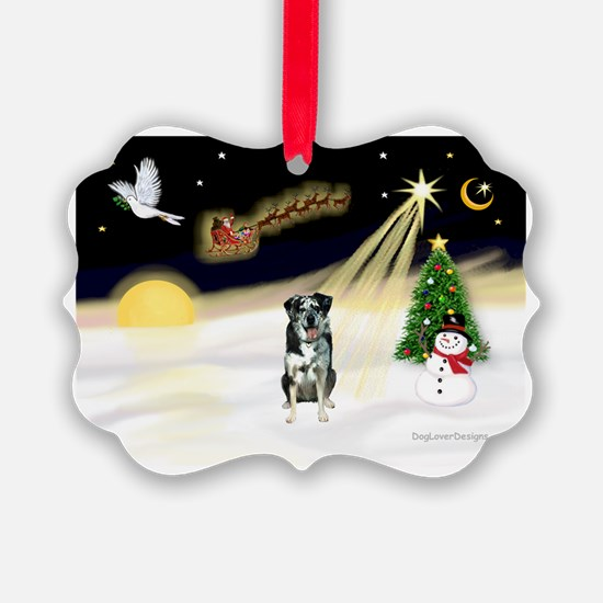Night Flight/Catahoula Ornament