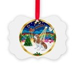 XmasMusic 3/Cavalier F1 Picture Ornament