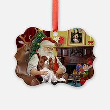 Santa's Cavalier (BL) Ornament