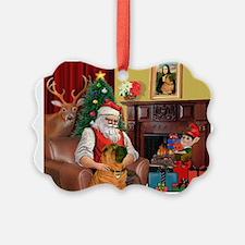 Santa's Shar Pei Ornament