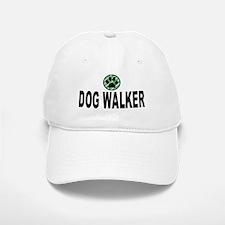 Dog Walker Green Stripes Baseball Baseball Cap