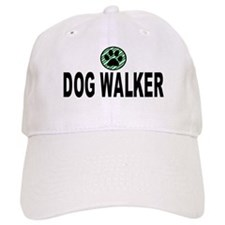 Dog Walker Green Stripes Baseball Cap