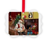 Santa's French BD (1) Picture Ornament