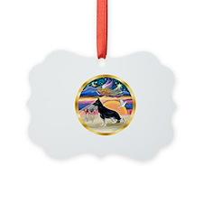 XmasStar/German Shepherd Ornament