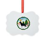Take Off1/German Shepherd Picture Ornament