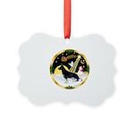 NightFlight-German Shep3 Picture Ornament